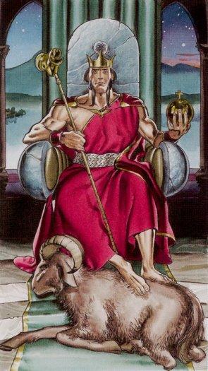 4 Император Таро Ритуалы Ордена Золотой Зари