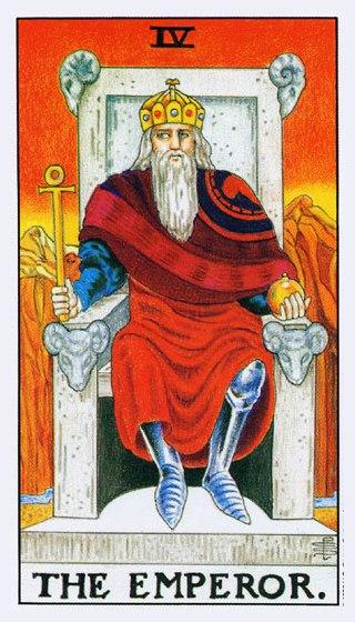 4 Император из колоды классическое Универсальное Таро